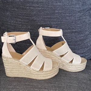 Marc fisher wedge sandals size 9.5.  new in box